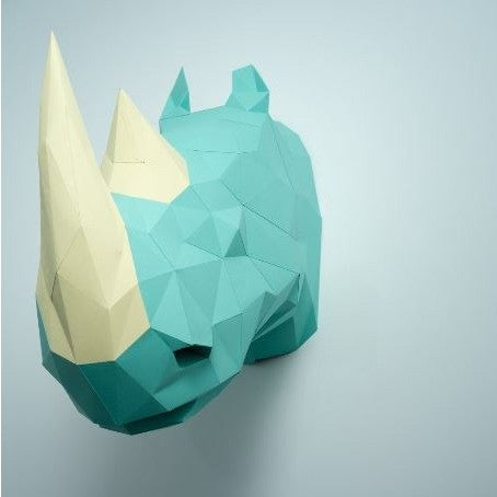 Paper Sculpture Kit - Rhino