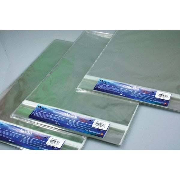 Crystal Clear Bags Pack of 25