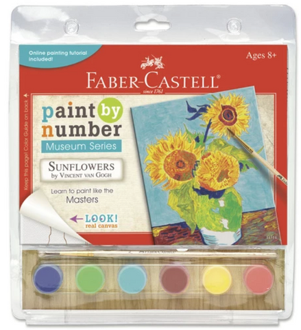 Faber-Castell Paint by Number Museum Series - Sunflowers