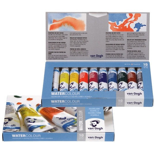 Van Gogh Watercolour Tube Set of 10
