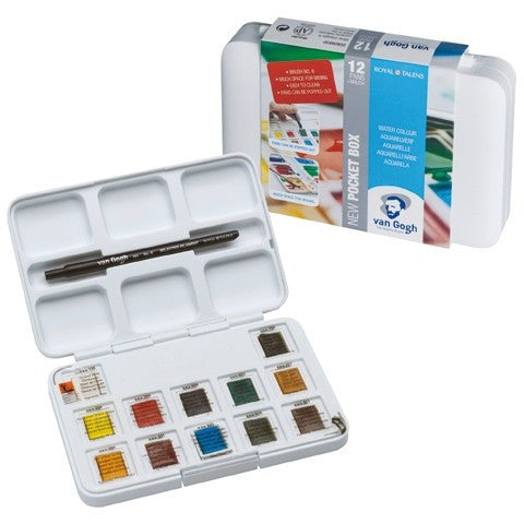Van Gogh Watercolour Pan Set of 12