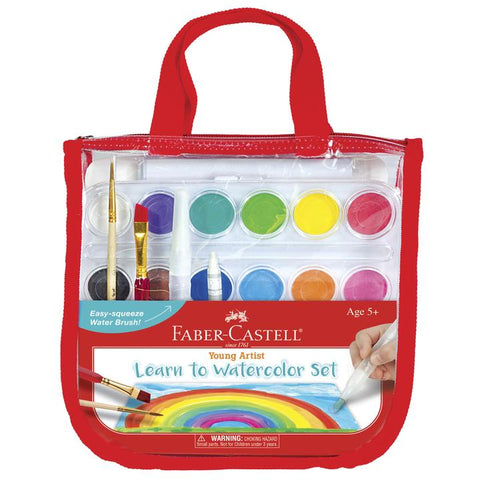 Faber-Castell Young Artist Learn to Watercolor