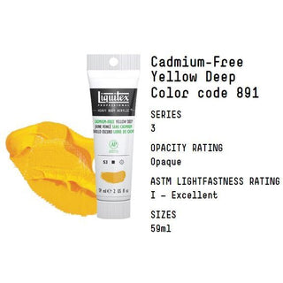 Cadmium-Free Yellow Deep