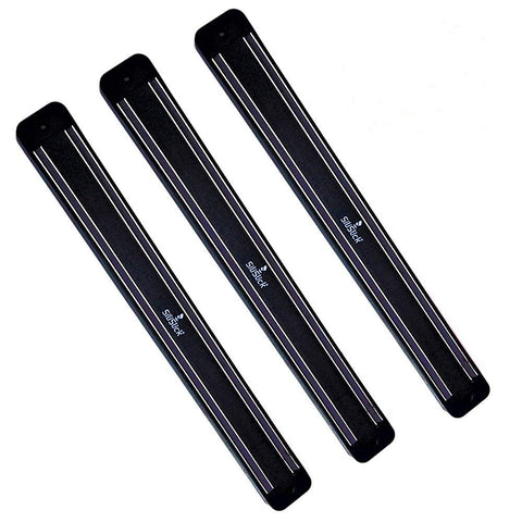 Magnetic Wall Rack - 3 Pack Black