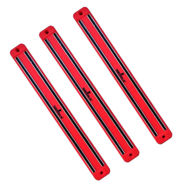 Magnetic Knife/Tool Rack - 3 Red
