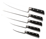 Full Tang, Stainless Steel 5 Piece Knife Set by SiliSlicku00ae   silislick.myshopify.com