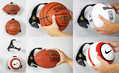 BALL CLAW Sport Storage Holder Display Mount - Basketball Football Soccer Rugby