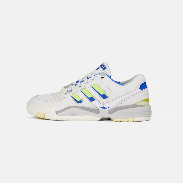 Adidas Torsion Comp- Crystal White/Signal Green/Glory Blue