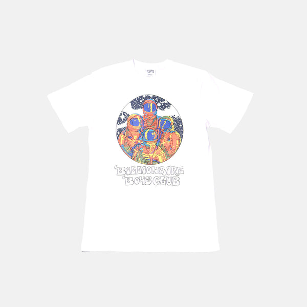 Billionaire Boys Club Crew SS Tee - White