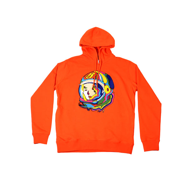 Billionaire Boys Club Luminous Helmet Hoodie - Tangerine