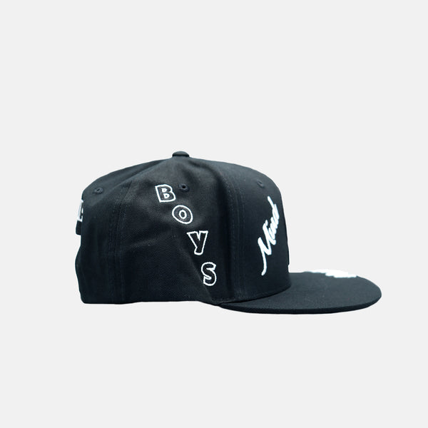 Billionaire Boys Club Captain Snapback Hat - Black