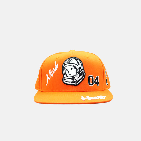 Billionaire Boys Club Captain Snapback Hat - Tangerine