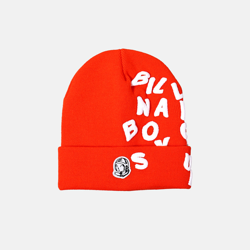 Billionaire Boys club Beanie Skully - Tangerine Tango