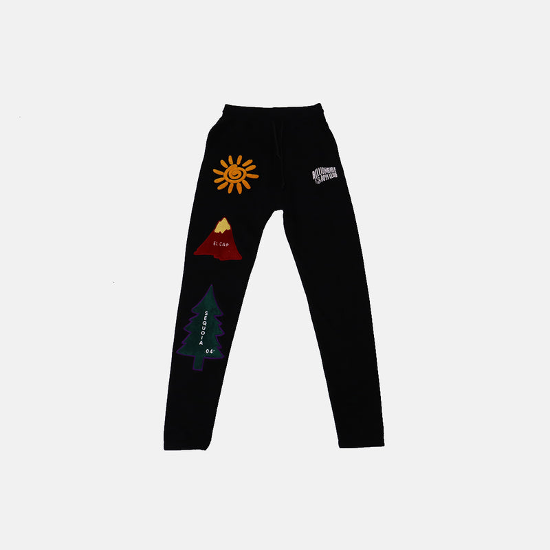 Billionaire Boys Club Sunrise Sweatpant- Black