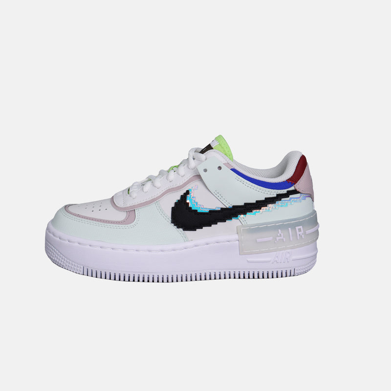 DripLA - Womens Nike AF1 Shadow - Barley Green/Black/White