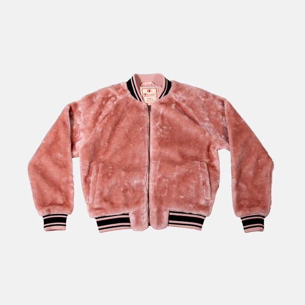 Womens Champion Europe Jacket - Primer Pink