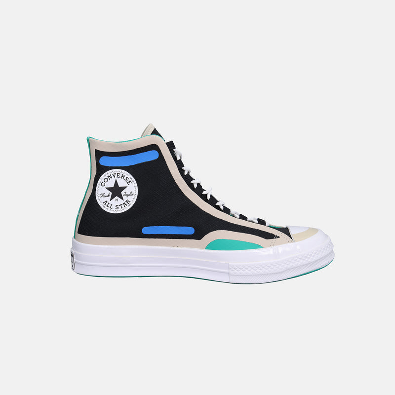 Converse Digital Terrain Chuck 70 - Black/String/Digital Blue