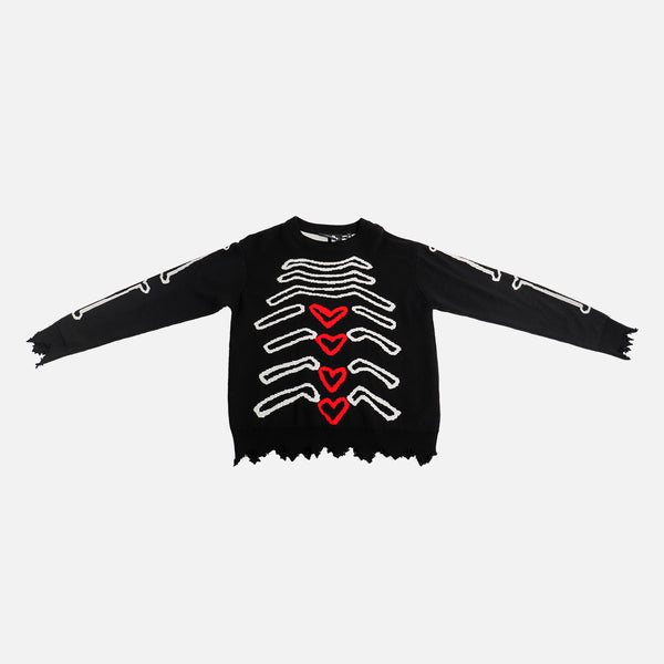 Haculla My Insides Sweater- Black