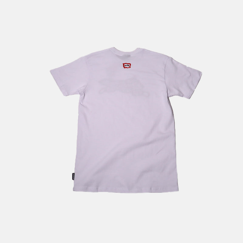 Ice Cream Paisley SS Tee- White