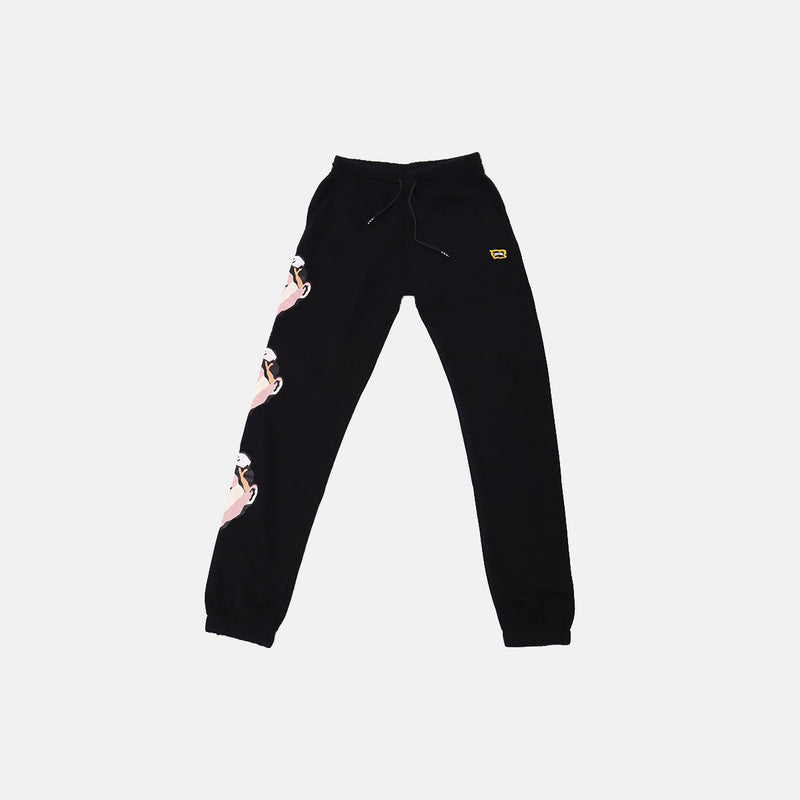 Ice Cream Whipped Sweatpant- Black