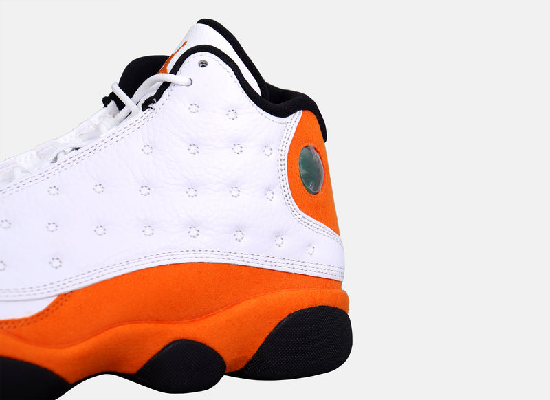 Air Jordan 13 Retro - White / Starfish / Black
