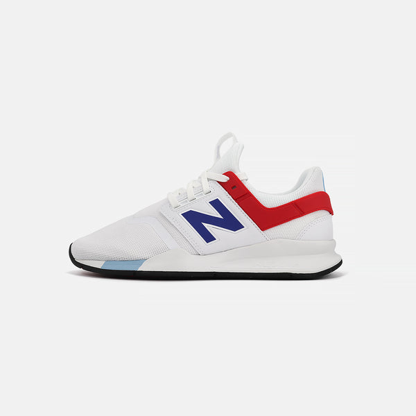 New Balance MS247FO- White/Red/Blue