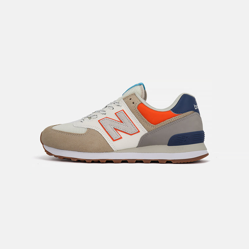 New Balance ML574NFT- Khaki/Orange