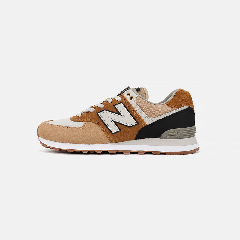 New Balance ML574MLC 'Military Patch'-Hemp/Black