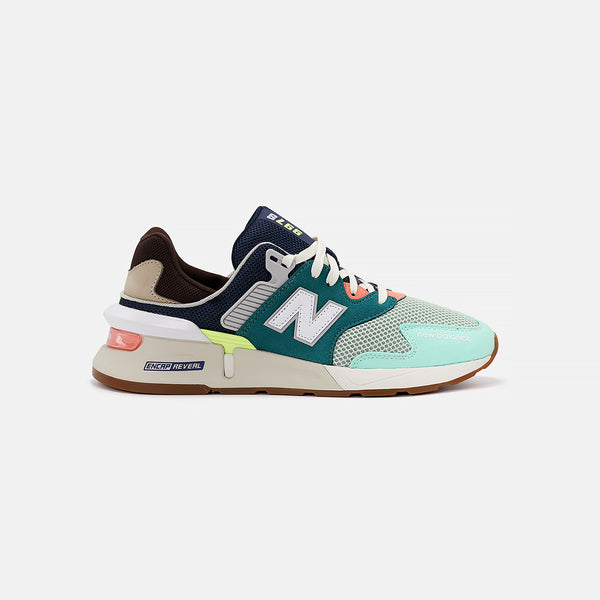 New Balance MS997JHY- Teal/Brown