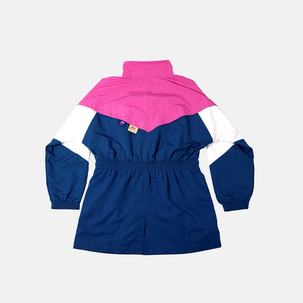 Womens Nike Sportswear Icon Clash Track Jacket -  Pink/Blue tech