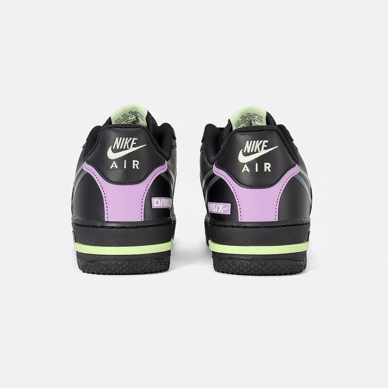 DripLA - Nike Air Force 1 React - Black/Anthracite/Violet Star