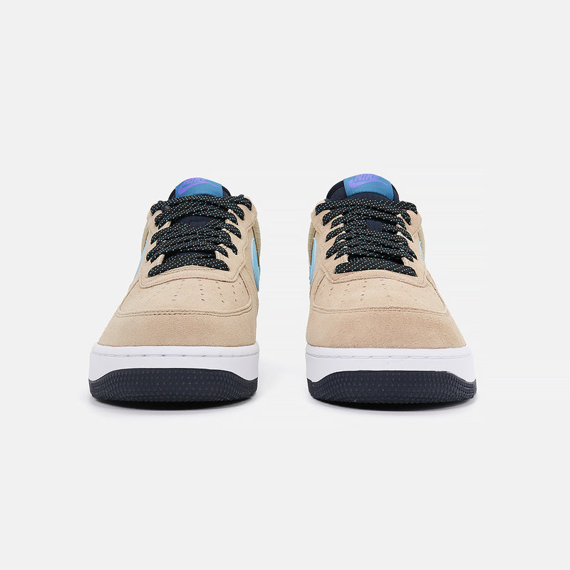 Nike Air Force 1 '07 LV8 2- Khaki/Blue Fury/Persian Violet