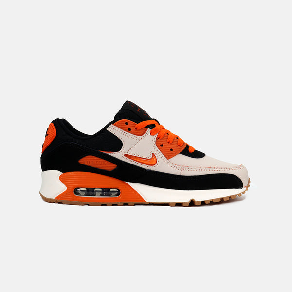 DripLA - Nike Air Max 90 PRM - Sail/Safety Orange/Black