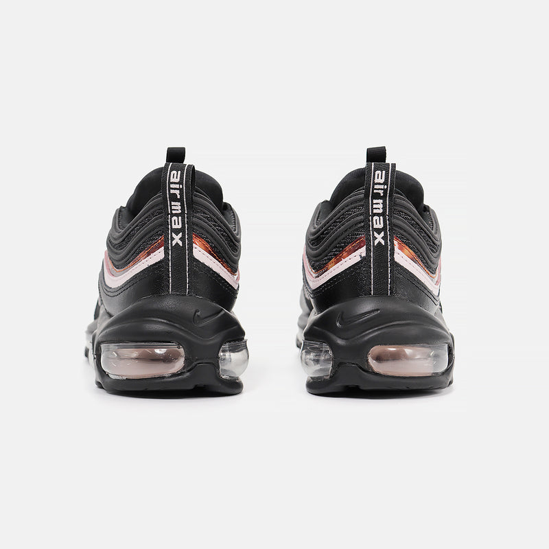 Womens  Nike Air Max 97- Black/Barely Rose