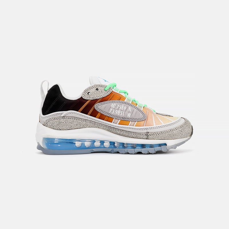 Air Max 98 OA GS- Vast Grey/Electro Green
