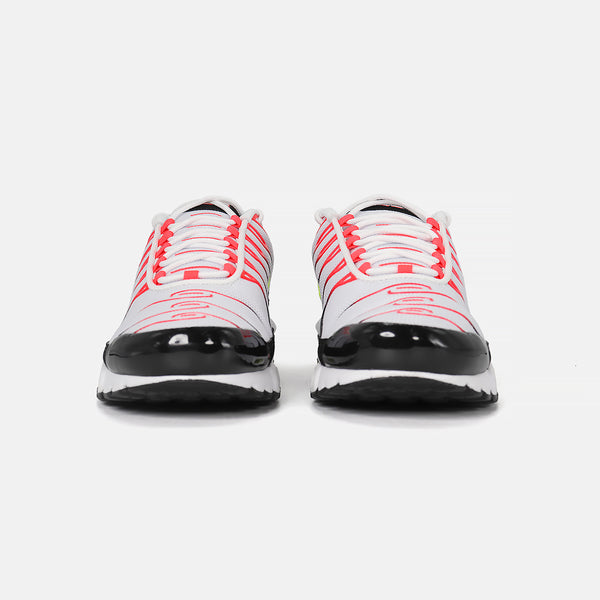Nike Air Max Plus- White/Laser Crimson