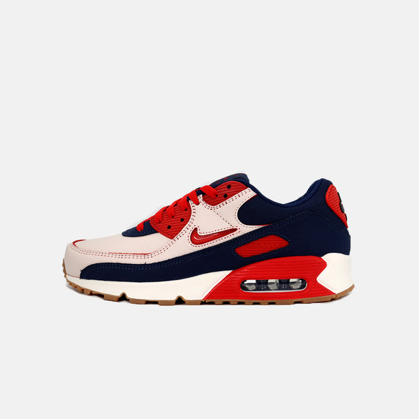 DripLA - Nike Air Max 90 PRM - Sail/University Red