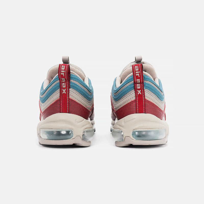 DripLA - Nike Air Max 97 SE - Light Taupe/Team Red