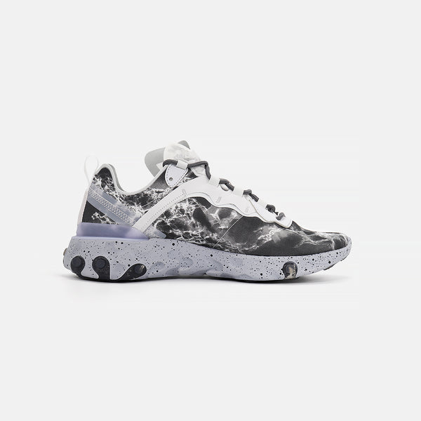 Nike React Element 55 KL- Pure Platinum/Clear/Wolf Grey