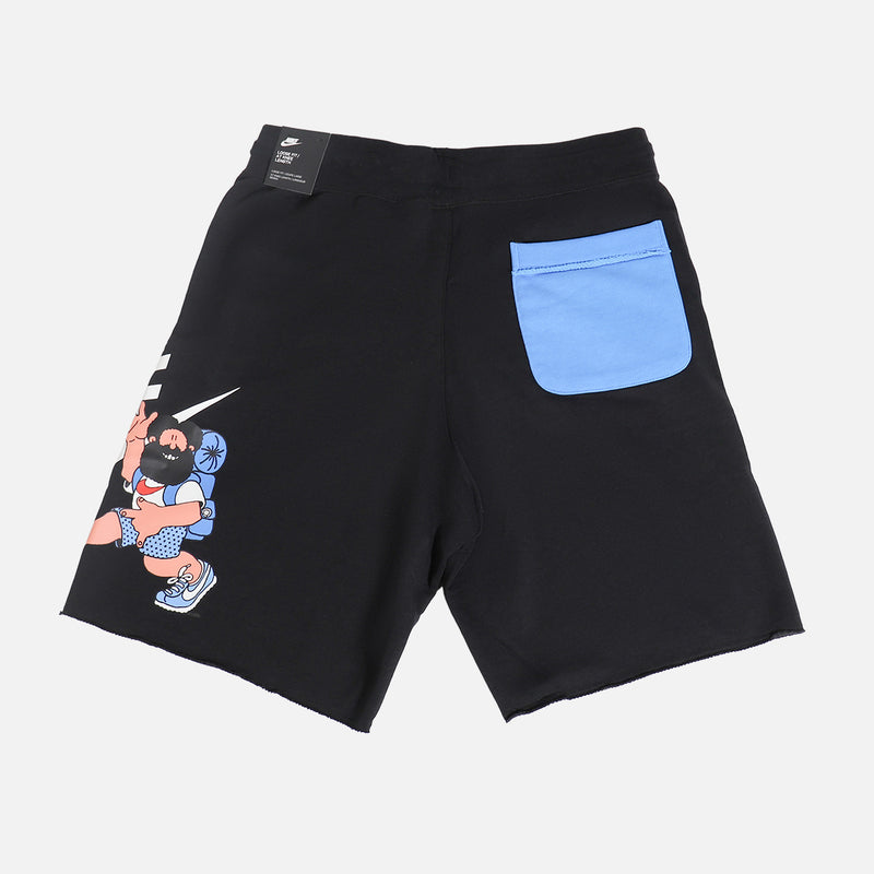 Nike NSW Hiker Alumni Shorts- Black
