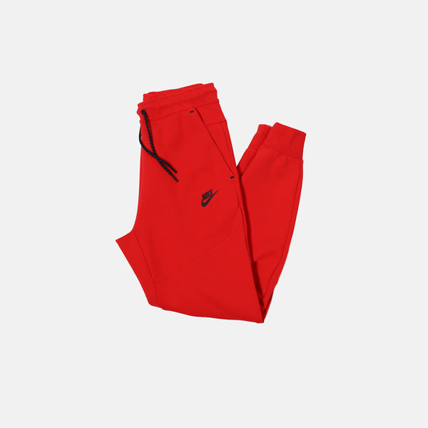 DripLA - Nike Nsw Tech Fleece Jogger - University Red / Black