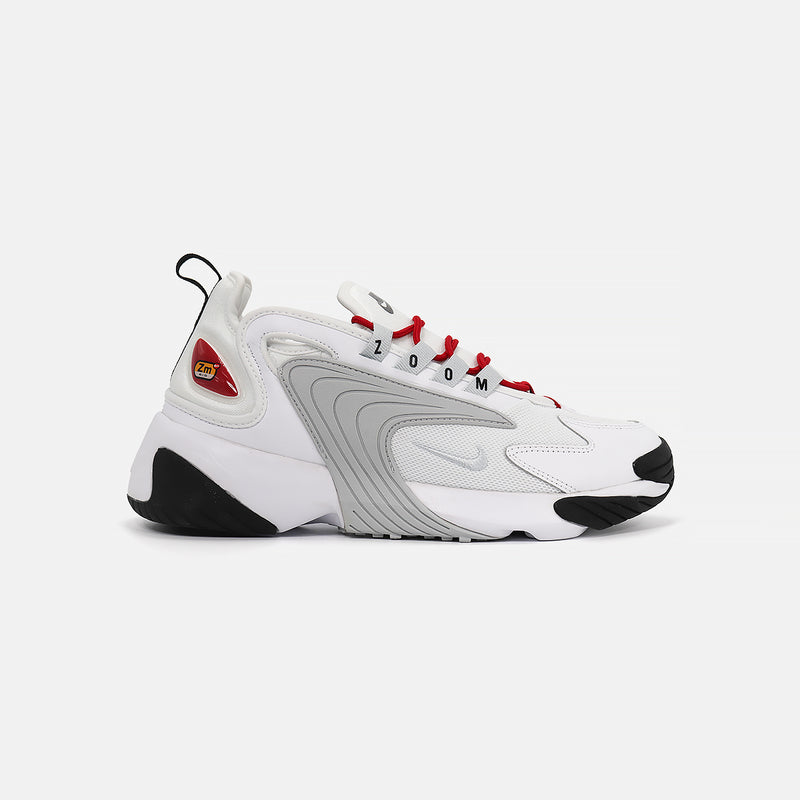 W Nike Zoom 2K- White/Pure Platinum/Gym Red