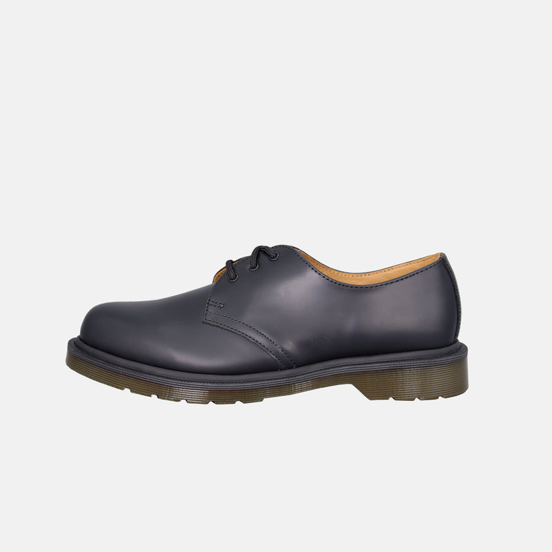 DripLA - Dr.martens Plain Welt Smooth Leather Oxford shoes - Black Smooth Leather