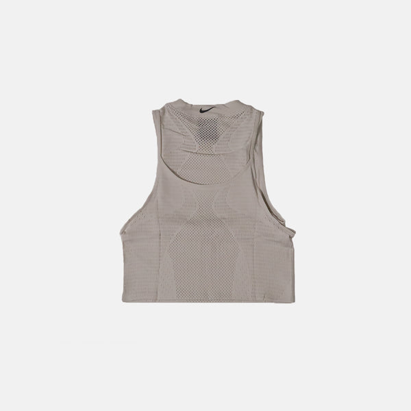 Womens Nike City Ready Seamless Tank- Off White