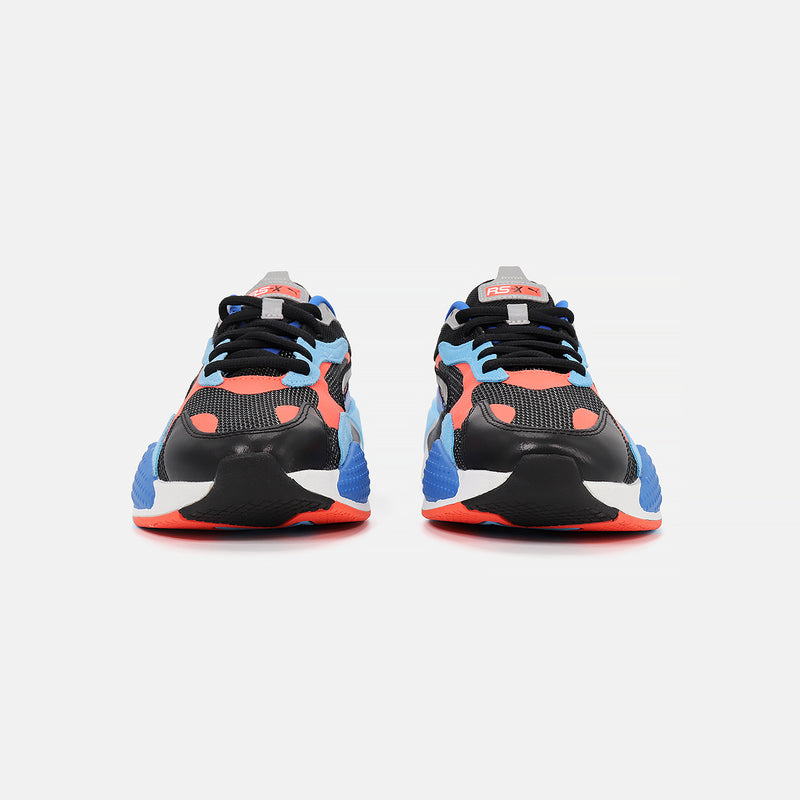 Puma RS-X^3 Level Up- Black/Hot Coral