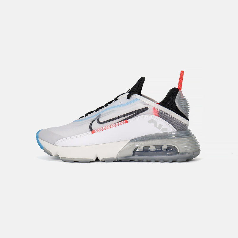 WMNS Nike Air Max 2090- White/Pure Platinum/Bright Crimson