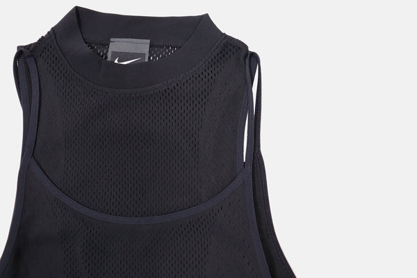 Womens Nike City Ready Seamless Tank- Black
