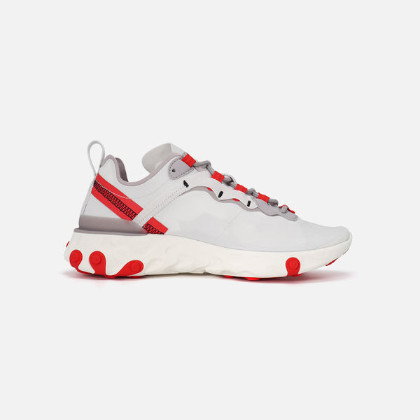 Womens  Nike React Element 55- Platinum tint/Silver Lilac
