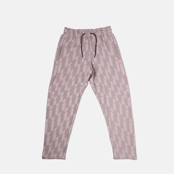 DripLA - Womens Nike Sportswear Tech Pack Printed Woven Pants - Platinum Violet/Taupe Haze/Black