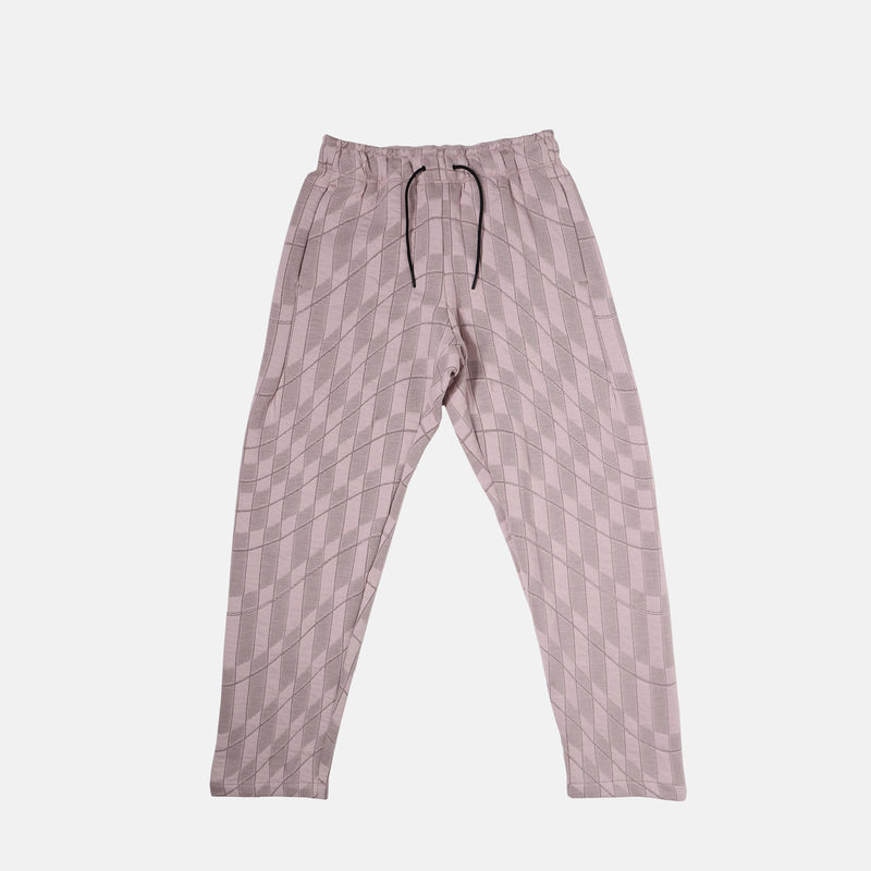 Womens Nike Sportswear Tech Pack Printed Woven Pants - Platinum Violet/Taupe Haze/Black